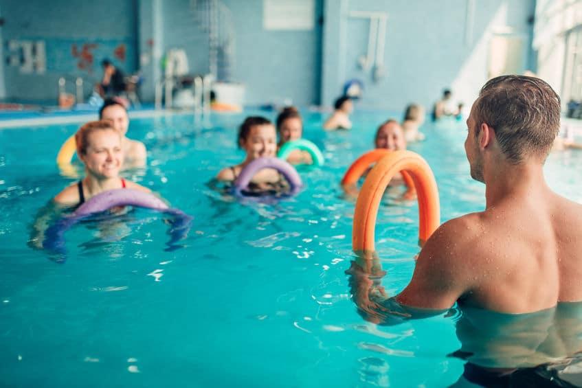 L'aquagym : le sport idéal de vos vacances !