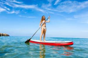 Le Stand Up Paddle : sculptez votre silhouette en vous ressourçant !