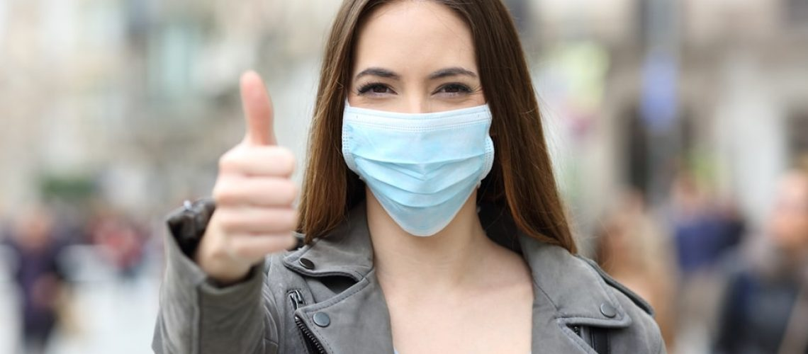 Eviter les boutons avec le masque - Corps et Santé